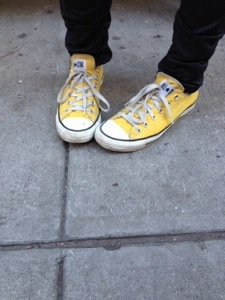 Revive Once Soaked Converse Chuck Taylors