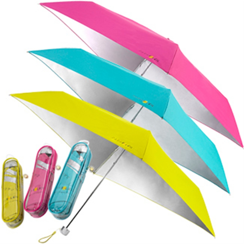 Don't like smell or hassle of SPF? Tan healthy - our sun umbrellas are specially designed with SPF 50+ and compact - perfect for traveling and on-the-go! Parasoleil Sun Umbrella, $37. Available at LoveAllSeasons.com.