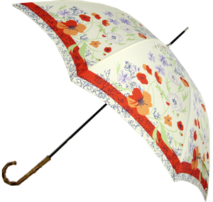 Instead of a bouquet of flowers give mom a Floral Umbrella that can also be used to shield her delicate skin from the sun.