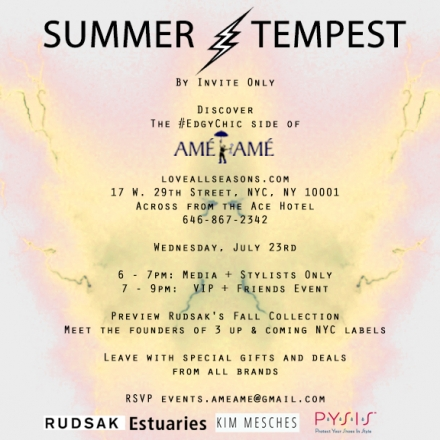 A Summer Tempest Party