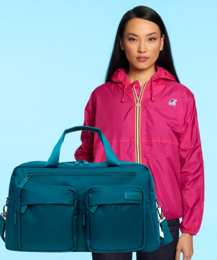 Stylish Weekender + Waterproof Windbreaker