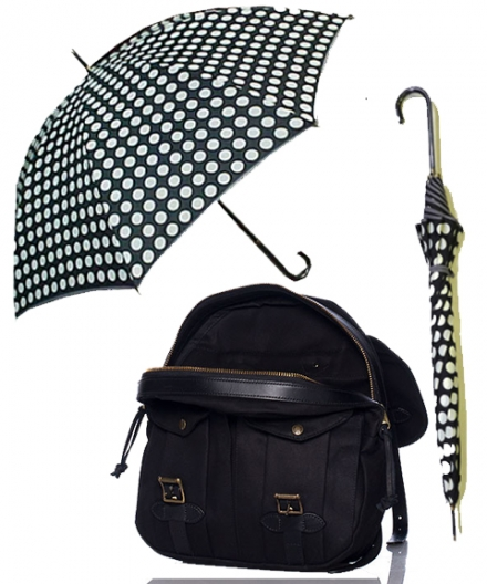Stylish Black Backpack for Back to School