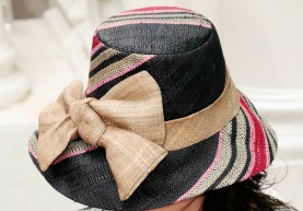 Straw Hats that Work for Fall