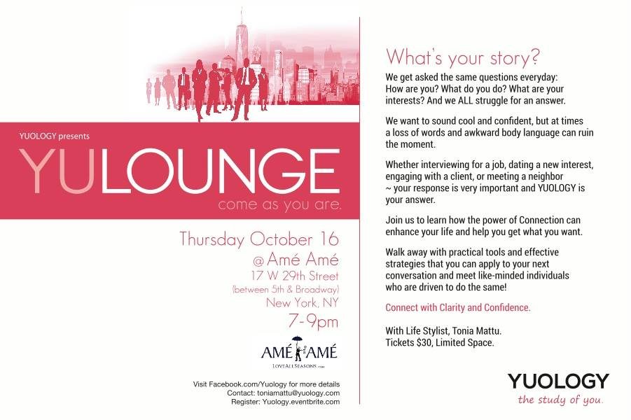 Express Yourself – Yuology Event (10/16)