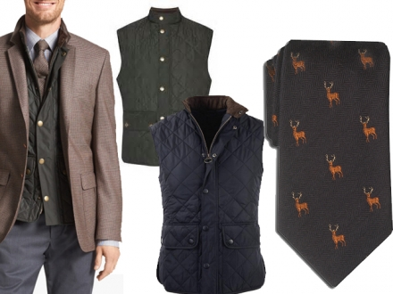 Barbour Lowerdale Vest & Lee Allison Men's Accessories