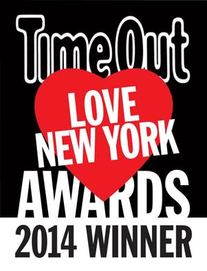 A Time Out Love New York Award Winner
