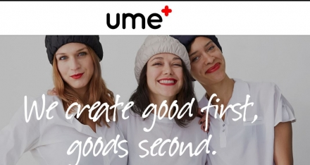 UMe+ launches & will trunk show at Ame Ame
