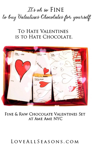 Fine & Raw Chocolate Valentines Sets in 2015
