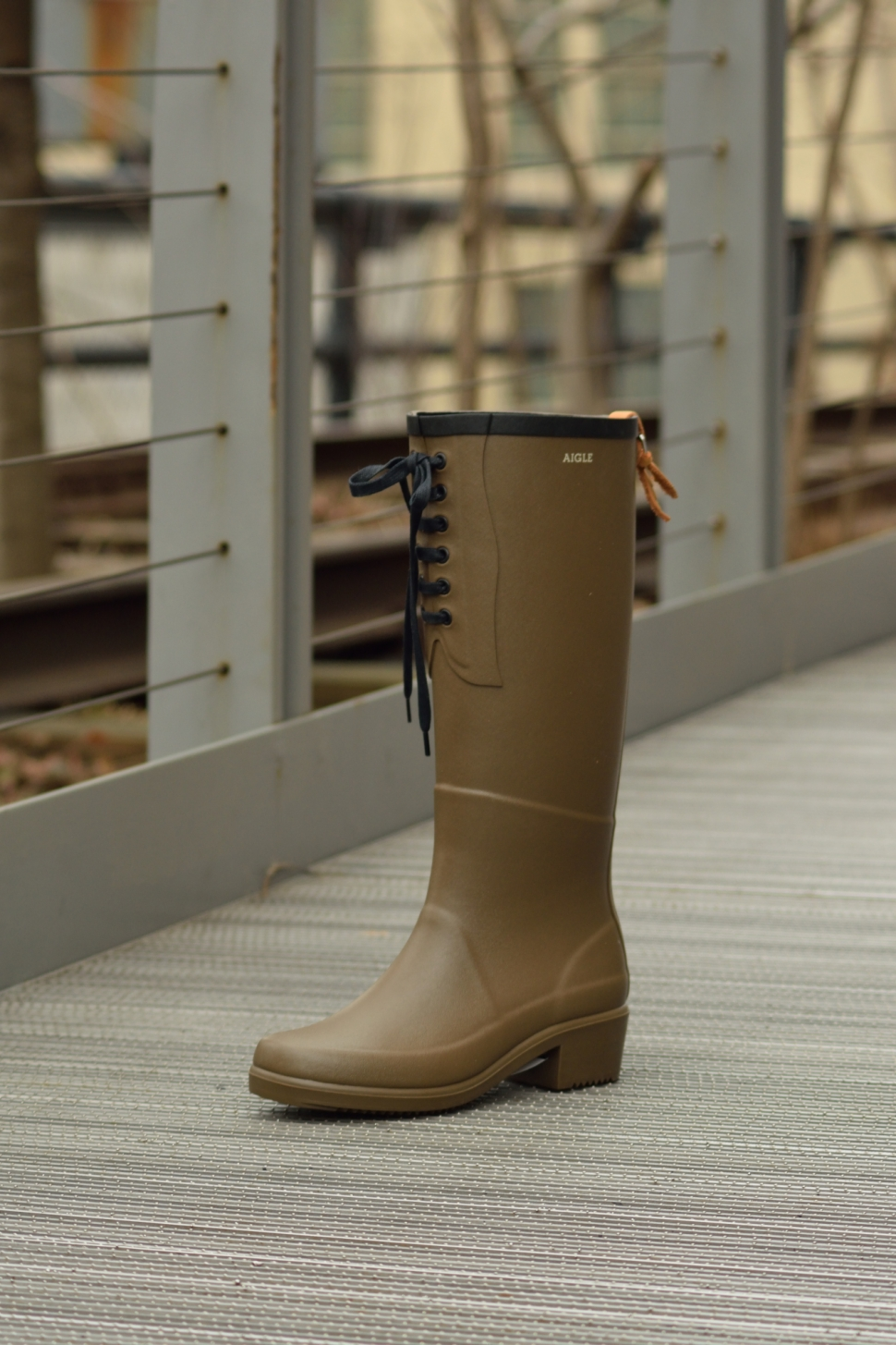 Aigle Boots In Time For Spring