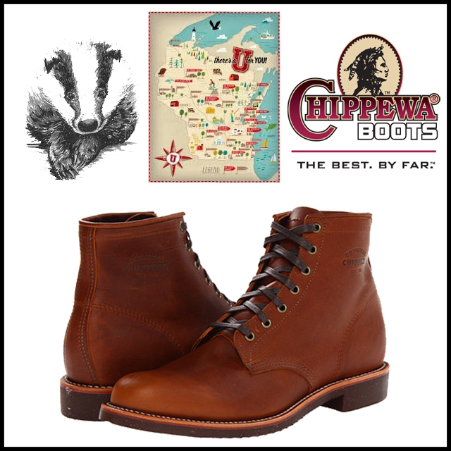 Chippewa Service Boots as Seen at J.Crew and now at Ame Ame