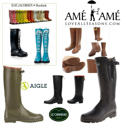 25% Off All Knee High Rain Boots Until June 30th.  40% off on the last day.
