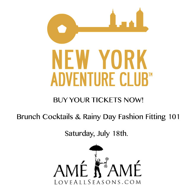 Join NYC's Adventure Club & Enjoy 10% off a day of shopping at Ame Ame