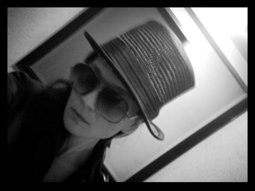 who says top hats are only for men?   Be bold be daring  be tom boy chic