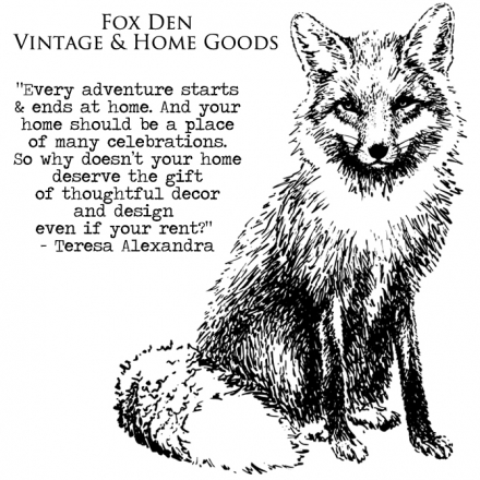 Fox Den Vintage & Home Goods – The Start of New Collaborations