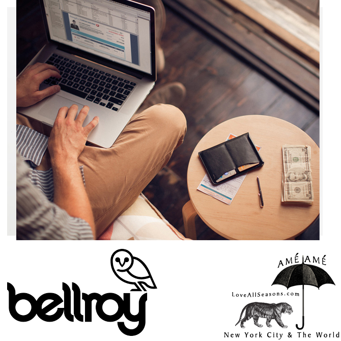 At $99.95, the passport sleeve by bellroy is an awesome perfectly priced gift.  And it comes with a micro pen!